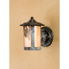 """6"""" W Fulton Winter Pine Solid Mount Wall Sconce"""