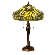 """25"""" H Tiffany Jonquil Table Lamp"""