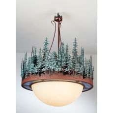 "36"" W Pine Lake Inverted Pendant"