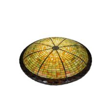 "48"" W Acorn Inverted Dish Pendant Shade"