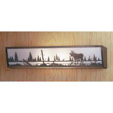 """31"""" W Moose Creek Vanity Light"""