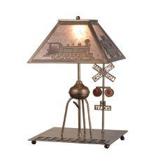 "24.5"" H Train Table Lamp"
