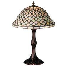 "20"" H Diamond & Jewel Table Lamp"