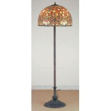 "64"" H Scroll Jadestone Floor Lamp"