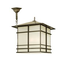 "30"" Sq Tea House Lantern Pendant"