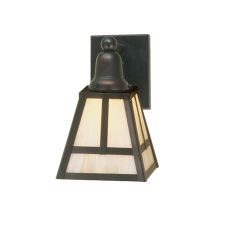 """6"""" W """" T""""  Mission Wall Sconce"""