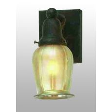 """4"""" W Revival Oyster Bay Favrile Wall Sconce"""