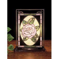 """6"""" W 9"""" H Rose Mini Window & Display"""
