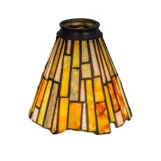"5"" W Delta Jadestone Fan Light Shade"