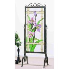 """29"""" W 68"""" H Meadow-Beauty Glass & Metal"""