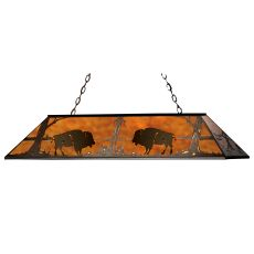 "60"" L Buffalo Oblong Pendant"