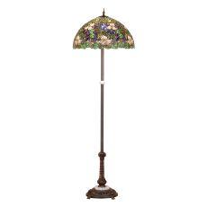 """60"""" H Trillium & Violet Floor Lamp"""