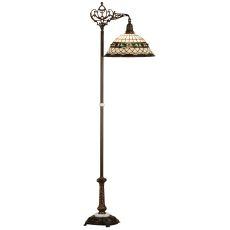 "70"" H Tiffany Roman Bridge Arm Floor Lamp"