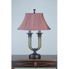 "29"" H Cypress Fabric Table Lamp"