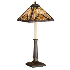 "24.5"" H Nuevo Mission Buffet Lamp"