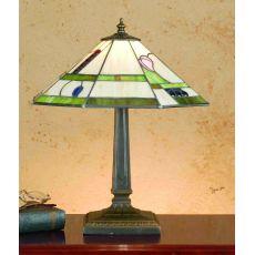 "15.5"" H Mackintosh Buds Octagon Table Lamp"
