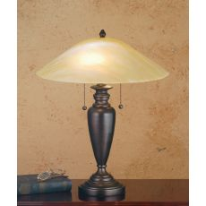 "18"" H Beige Iridescent Table Lamp"