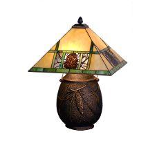 "19.5"" H Pinecone Ridge Table Lamp"