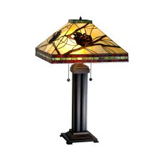 """24"""" H Pinecone Mission Table Lamp"""