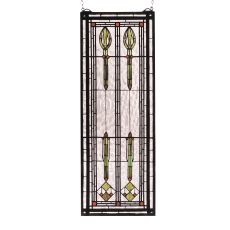 """11"""" W X 30"""" H Spear Of Hastings Stained Glass Window"""
