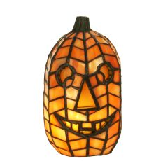 "8.5"" H Jack O'Lantern Accent Lamp"