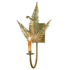 "11.5"" W Fern Wall Sconce"