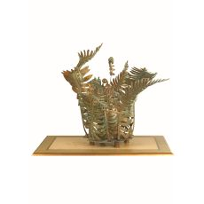 """18.5"""" H Fern Outdoor Table Lamp"""
