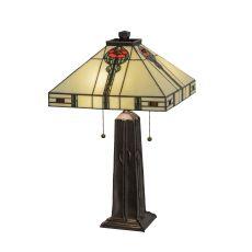 """23.5"""" H Parker Poppy Table Lamp"""
