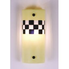 """5"""" W Metro Fusion Yellow Taxi Wall Sconce"""
