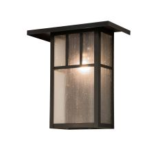 """15"""" W Hyde Park Double Bar Mission Wall Sconce"""