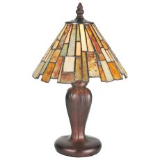 "13"" H Delta Jadestone Mini Lamp"