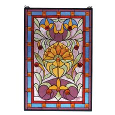 "20"" W X 30"" H Picadilly Stained Glass Window"