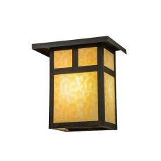 """12"""" W Hyde Park T Mission Wall Sconce"""