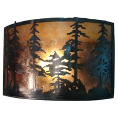 "18"" W Tall Pines Wall Sconce"