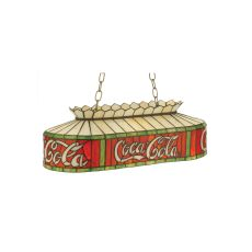 "24"" L Coca-Cola Oblong Pendant"