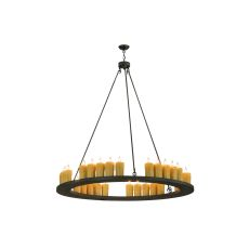 """60"""" W Loxley 30 Lt Chandelier"""