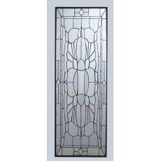 "15"" W X 43"" H Beveled Glass Stained Glass Window"