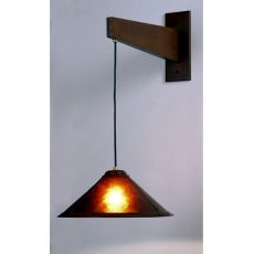 """17"""" W Mission Cantilever Wall Sconce"""