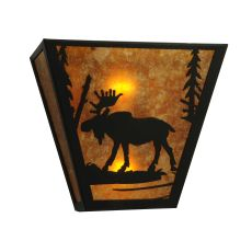 "13"" W Moose Creek Wall Sconce"