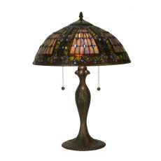 """22.5"""" H Fleur-De-Lis Table Lamp"""