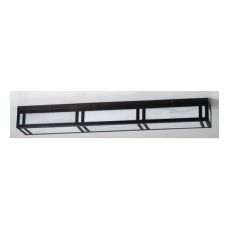 "48"" L Hyde Park Double Bar Mission Flushmount"