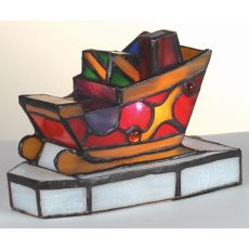 """4.5"""" H Sleigh With Presents Accent Lamp"""