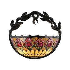 """17"""" W Colonial Tulip Wall Sconce"""