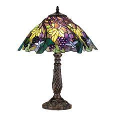 "22"" H Spiral Grape Table Lamp"