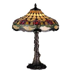 """19.5"""" H Colonial Tulip Table Lamp"""
