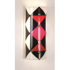 """5"""" W Metro Fusion Jester Wall Sconce"""