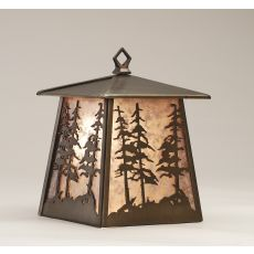"""7.5"""" W Tall Pines Hanging Wall Sconce"""