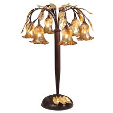 """21"""" H Celestial Bouquet 6 Lt Table Lamp"""