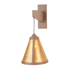 """12"""" W Mission Cantilever Wall Sconce"""