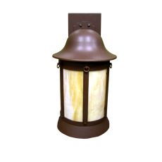 """9.5"""" W Bowler Outdoor Wall Sconce"""